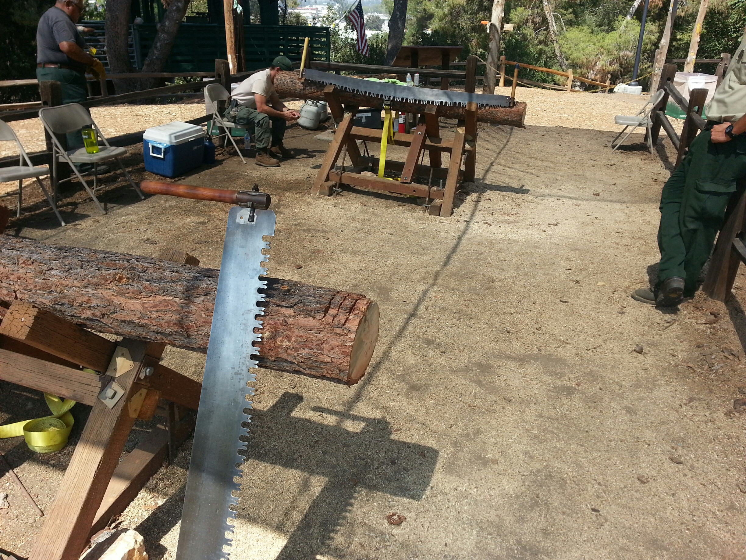 Crosscut Saw Venue LACF