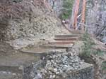 Icehouse Canyon gabion basket